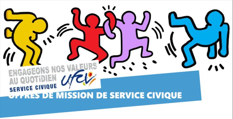 OFFRES DE MISSION DE SERVICE CIVIQUE